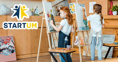 50% скидка на мастер-классы по рисованию и робототехнике для детей!