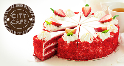 50% скидка на торты из натуральных ингредиентов — «Красный бархат», «Сливочная клубника», «Ежевичный», «Морковный», «Три шоколада», «Черепаха», «Наполеон» и другие!